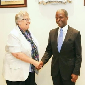 Vice Pres. Osinbajo Meets Chalker Foundation For Africa Today [See Photos]